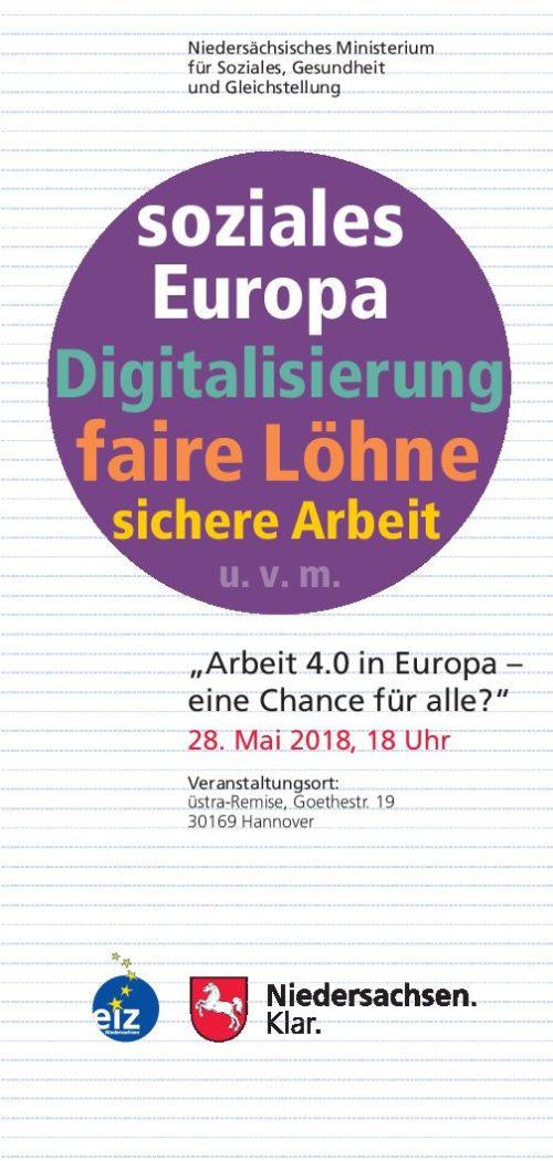 Arbeit 4.0 in Europa – eine Chance für alle?