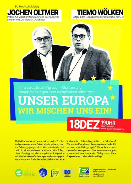 Innereuropäische Migration – Chancen und Herausforderungen einer europäischen Arbeitswelt