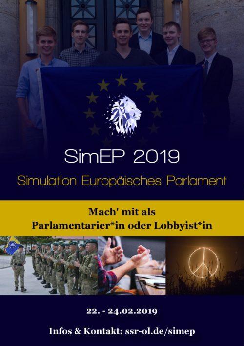 Planspiel Simulation des Europäischen Parlaments – SimEP (nicht öffentlich)
