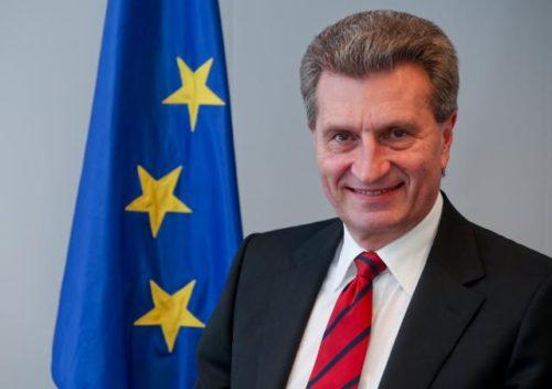"""Haushaltskommissar Oettinger weist Berichte über """"EU-Beitrags-Hammer"""" für Deutschland zurück"""
