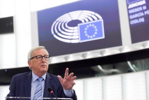 """Abschiedsrede von Präsident Juncker: """"Kämpfen Sie gegen den dummen Nationalismus!"""""""