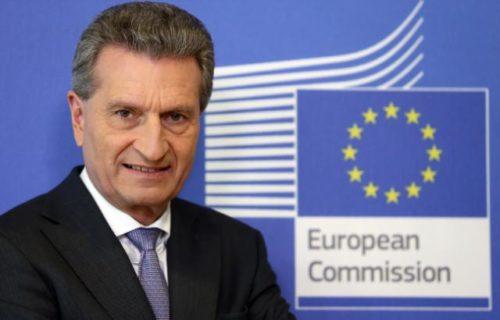 Oettinger pocht auf Fortschritte bei Haushaltsverhandlungen