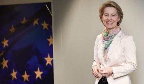 Ursula von der Leyen trifft Bundeskanzlerin Merkel und betont Vorreiterrolle Europas beim Klimaschutz