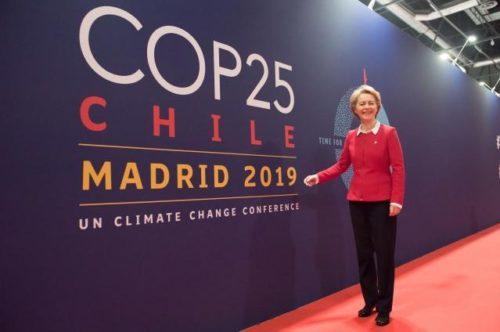UN-Klimakonferenz in Madrid: Präsidentin von der Leyen ruft zu schnellem Handeln auf