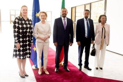 """Präsidentin von der Leyen in Afrika: """"College to College""""-Treffen der EU-Kommission und Afrikanischen Union im Februar 2020"""