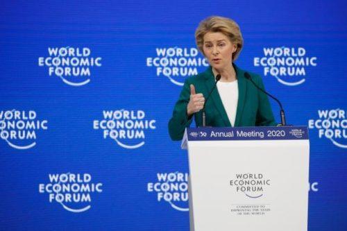 """Von der Leyen in Davos: """"Europa steht für eine von gemeinsamen Interessen geleitete Geopolitik"""""""