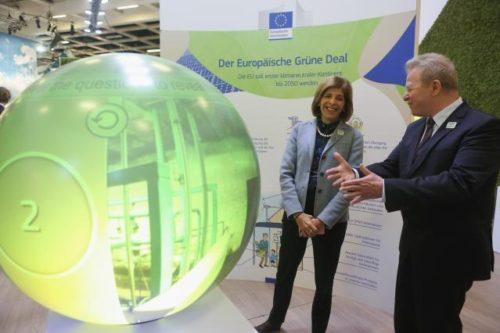 Landwirtschaft als Teil des Grünen Deals: Wojciechowski und Kyriakides bei der Grünen Woche 2020