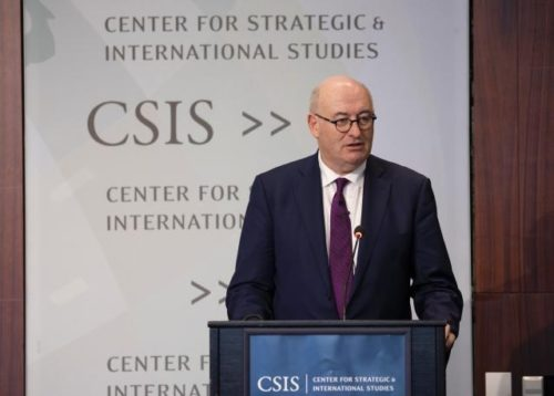 EU-Handelskommissar Phil Hogan ruft USA dazu auf, mit der EU als Partner für nachhaltigen globalen Wohlstand einzutreten