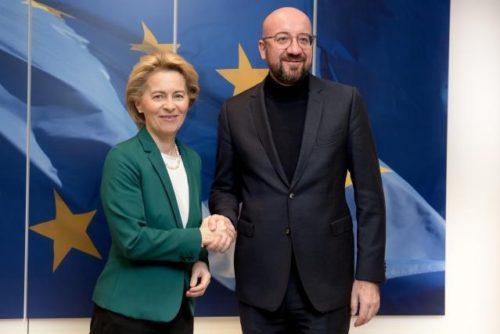 Von der Leyen, Borrell und Michel bei Libyen-Konferenz in Berlin