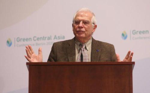 Borrell in Berlin: Klimaschutz ist Priorität für EU-Außenpolitik in Zentralasien