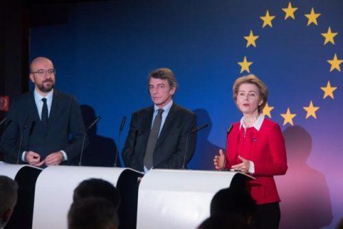"""Das Vereinigte Königreich tritt aus der Europäischen Union aus – von der Leyen: """"Wollen bestmöglichste Partnerschaft"""""""
