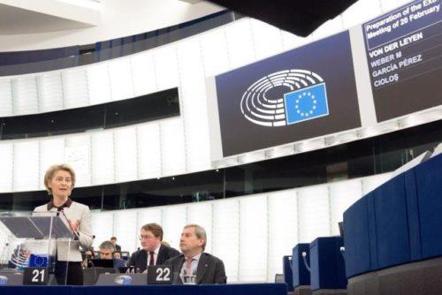 """Präsidentin von der Leyen vor Sondergipfel zum EU-Haushalt: """"Uns läuft die Zeit davon"""""""