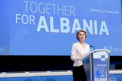 Internationale Geber wollen Albanien mit 1,15 Milliarden Euro unterstützen