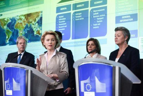 EU-Kommission bildet Coronavirus-Reaktionsteam