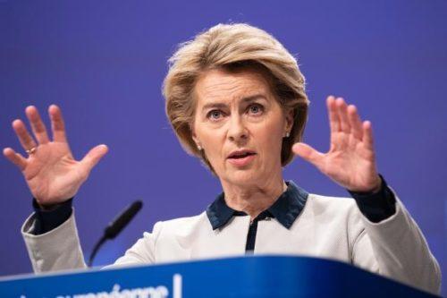 """Von der Leyen nach EU-Gipfel: """"Haushalt und Rechtsstaatlichkeit sind gleich wichtig"""""""