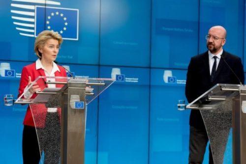 Schulterschluss in der Coronakrise: Staats- und Regierungschefs unterstützen Maßnahmen der Kommission