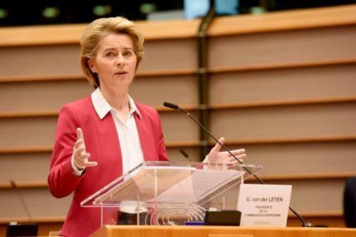 """Von der Leyen vor Videogipfel: Europa muss sich dem Coronavirus gemeinsam entgegenstellen – """"mit einem großen Herzen, nicht 27 kleinen"""""""