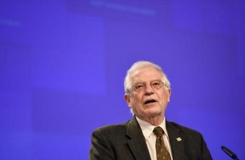 """EU-Außenbeauftragter Borrell: """"Die einseitigen Aktionen der Türkei müssen ein Ende haben."""""""