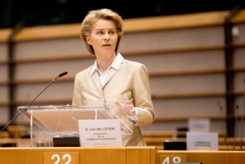 Von der Leyen vor dem Europäischen Parlament: Europa muss zusammenhalten