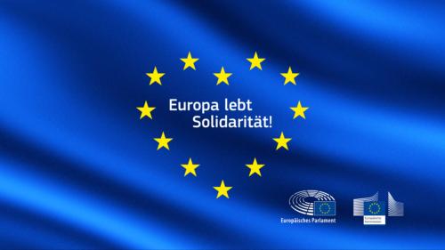 "EU-Kommission veranstaltet virtuellen Europatag unter dem Motto: ""Europa lebt Solidarität"""