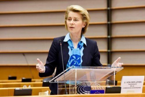 Präsidentin von der Leyen stellt Hauptelemente des Aufbauprogramms für Europa vor