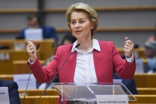 Die Stunde Europas: von der Leyen stellt Aufbauplan und langfristigen EU-Haushalt für die nächste Generation vor