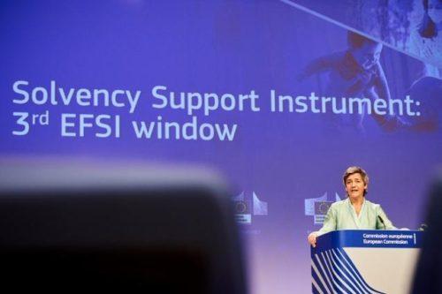 EU-Instrument zur Deckung von Kapitallücken soll im Herbst einsatzbereit sein