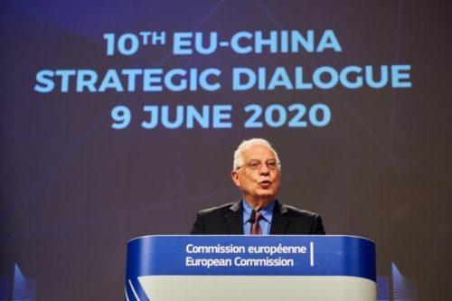 Borrell: Fortschritte vor EU-China-Gipfel im Juni