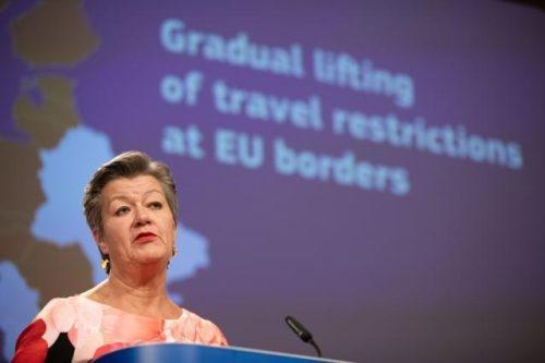 Einreisebeschränkung für Reisen in EU soll nach 30. Juni schrittweise aufgehoben werden – an den Binnengrenzen bereits früher