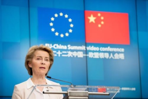 Nach EU-China-Gipfel: von der Leyen fordert Fortschritte bei Verhandlungen