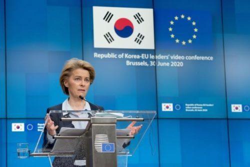 EU und Südkorea stärken strategische Partnerschaft in der Corona-Pandemie