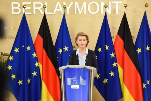 Nächste sechs Monate entscheidend für die EU, sagt von der Leyen zu Beginn der deutschen EU-Ratspräsidentschaft