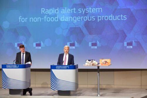 EU-Warnsystem: Spielzeug und Pkw führen die Liste entdeckter gefährlicher Produkte an