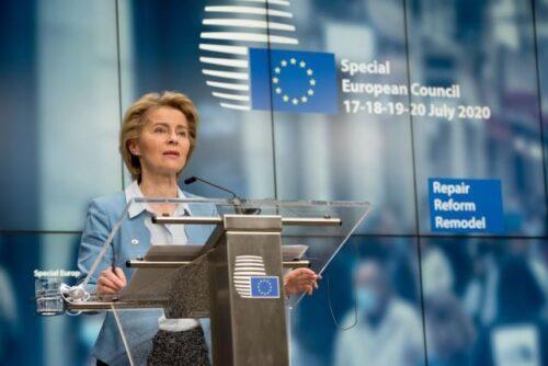 Von der Leyen: Ergebnis des EU-Gipfels ist ein historischer Moment für Europa