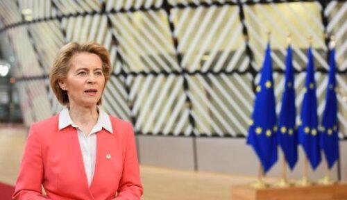 """Von der Leyen vor EU-Gipfel: """"Es steht viel auf dem Spiel"""""""