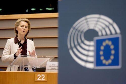 """Von der Leyen: """"Haben die Chance, gemeinsam Historisches für Europa zu erreichen"""""""