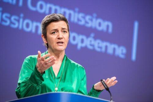 """Vestager beim """"Forum Bellevue"""" zur Regulierung von Online-Plattformen: """"Mit Macht kommt auch Verantwortung"""""""
