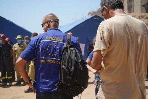 Flugzeug mit humanitärer Hilfe aus der EU in Beirut eingetroffen