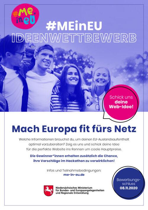 """""""Europa – Chancen für alle!"""" – Ideenwettbewerb """"Mach Europa fit fürs Netz"""""""