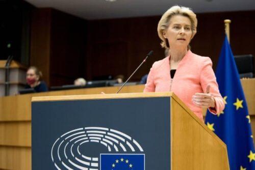 """Präsidentin von der Leyen zur Lage der Union: """"Ein vitales Europa in einer fragilen Welt"""""""