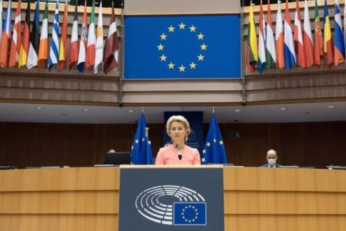 """Online-Veranstaltung: Die Rede zur """"Lage der Union"""" und ihre Reaktionen"""
