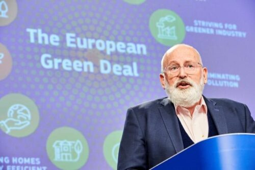 Umweltminister debattieren über Artenschutz und EU-Klimaziel – Kommissar besucht Showroom zum EU-Umweltzeichen in Berlin