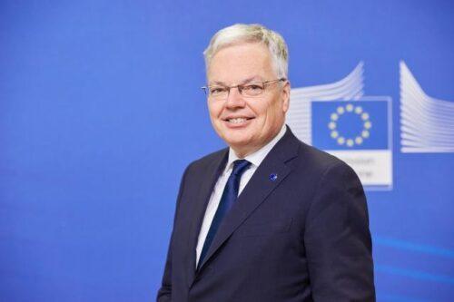 Justizkommissar Reynders debattiert im Bundestag über Rechtsstaatlichkeit in der EU