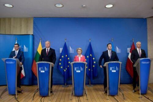 EU verbindet baltisches Energienetz mit dem Rest Europas