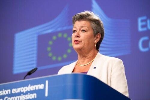 Innenkommissarin Johansson: Push-Back-Vorwürfe gegen Frontex müssen aufgeklärt werden
