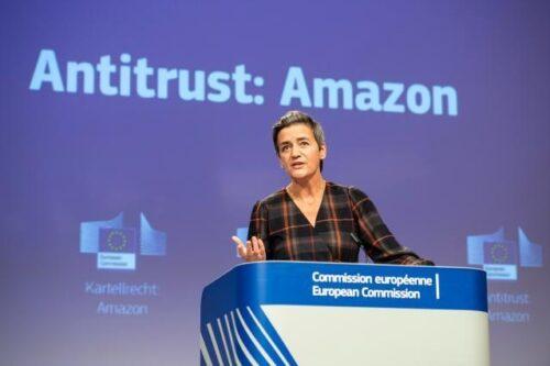EU-Kartellwächter werfen Amazon Bruch der Wettbewerbsregeln vor