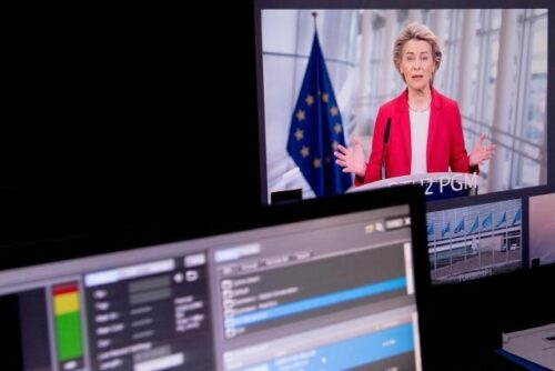 """Von der Leyen beim Digital-Gipfel der Bundesregierung: """"Grüner und digitaler Wandel gehen Hand in Hand"""""""