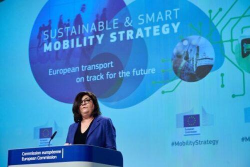 Verkehrsbedingte Emissionen sollen bis 2050 um 90 Prozent sinken