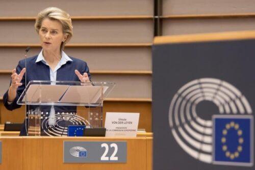 Präsidentin von der Leyen plädiert für gemeinsamen EU-weiten Impfstart
