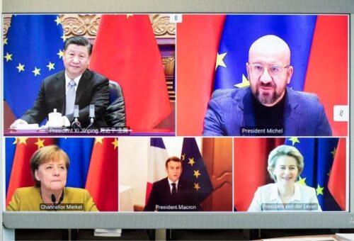 """Online-Live-Talk: Europa-Aktuell """"Die China-Strategie der EU – Ein Drahtseilakt?"""""""